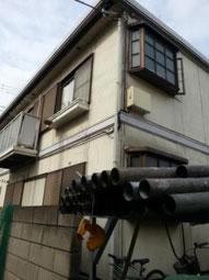 鉄骨アパート外壁施工前