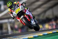Cal Crutchlow motoGP honda HRC LCR Le Mans
