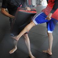 zur Kickboxabteilung