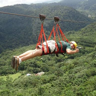 Canopy Tour & Superman close to la Fortuna and Arenal Volcano