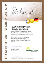 Heckert Solar Premium Partner