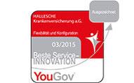 OlgaFlex Service-Innovation Zertifikat