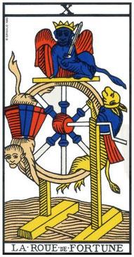 roue de fortune tarot de marseille