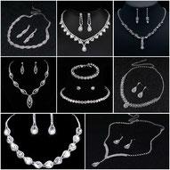 Brautschmuck Set Perlen Strass Modeschmuck Hochzeit Schmucksets Perlen Strass