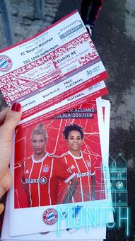 FC Bayern Frauen Tickets