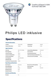 Philips LED Strahler Core Pro