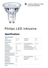 Philips LED Strahler Core Pro