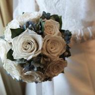 プリザーブドフラワーで準備する結婚式の花
