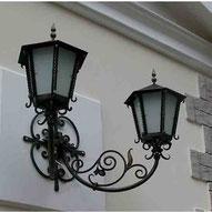 кованые фонари под старину