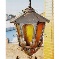 кованые фонари для улицы