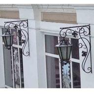 кованый уличный фонарь купить