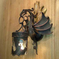 кованые фонари декоративные