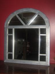 Miroir en zinc réalisé par l'entreprise Tempérault Bruno situé à Rouillac en Charente