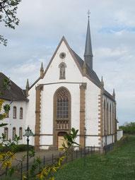 Trappisten-Abtei Mariawald in Heimbach/Eifel (b. Düren)