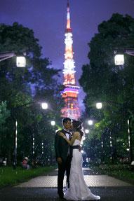 ドレスロケーションフォト 東京タワー