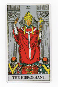 法王のタロットカード