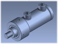 KOMPAUT Hydraulic Cylinders ISO 3320 MDR