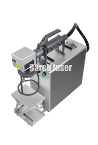 portable laser, laser fiber optic, laser marking, engraving, engraver, portable, hand held,