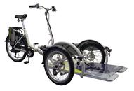 Velo Plus 2 - Das Dreirad mit eigenem Rollstuhl - 2018