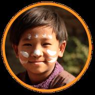 enfant népalais - histoire de l'association