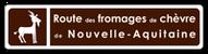 logo de la route de fromages de chèvres en Nouvelle Aquitaine