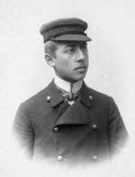 Herbert Silberer um 1902