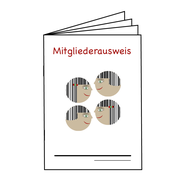 Grafik/Mitgliederausweis/Verein