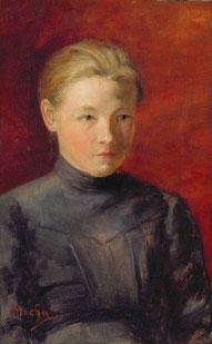 ※1:「妹アンナの肖像」1885年