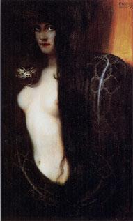 ※2:フランツ・フォン・シュトゥック《シン》1893年