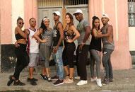 Team of dance school Salsabor a Cuba