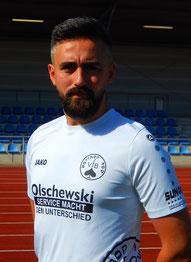Kapitän Sercan Istek spielte heute im Angriff und traf doppelt.