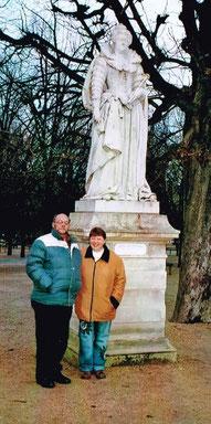 Wanderurlaub in Paris 2008 (mit ehemaligem Vorstand Karlheinz Kratzer)