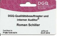 DGQ-Kompetenzkarte