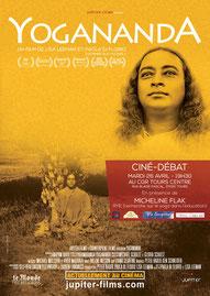 Film Yogananda à Tours - organisation Via Energetica - plate-forme bien-être en Touraine
