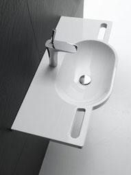 Bild: HEWI Waschtisch mit integrierten Haltegriffen