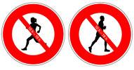 Interdiction des activités sportives en extérieur à partir du 08.04.2020