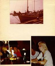 """1974 Nun lassen wir meine Seefahrerkarriere wieder aufleben und zwar in der """"Lustschiffahrt"""""""