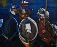 les bateaux à Sète