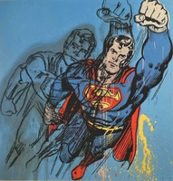Superman von Andy Warhol