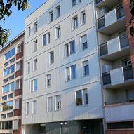 Rue Roquemaurel, Toulouse (31), habitat participatif, SCI APP, Les Chalets