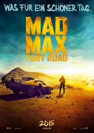 Filmplakat Mad Max Fury Road