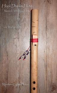 Hopi Dream Flute - Natural - Wild Landscape