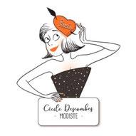 Cécile Descombes - Modiste - Tous droits réservés©
