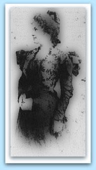 Maria Montessori ~1898 / Quelle: Helmut Heiland, s.o., S. 29 (bearbeitet)
