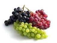 uva bianca, uva rossa erboristeria ischia
