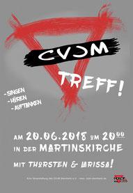 vergrößerbarer Flyer: CVJM-Treff