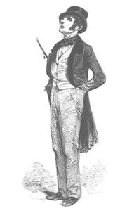 Paul Gavan: Le Flaneur, 1842