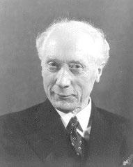 The creator of the Alexander Technique, F.M. Alexander
