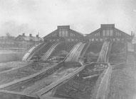 Exterörbild av Ljusne ångsåg som anlades 1881-82 och var i drift till 1908. Foto: Stig Wallström
