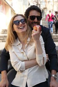 Vincent Elbaz et Julie Gayet, mari et femme (©Manuel Cohen/Rezo Films)
